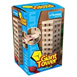 Kingfisher GA001 Giant Tower Blocks Game - Wood