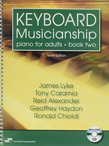Keyboard Musicianship: Piano for Adults: 2 (2 Piano 101 Book)