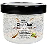 New Ampro Pro Styl Clear Ice Coconut Oil Hair Styling Gel Firm Hold 12 oz.