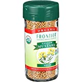 Frontier Herb Organic Yellow Whole Mustard Seed, 3.05 Ounce - 6 per case