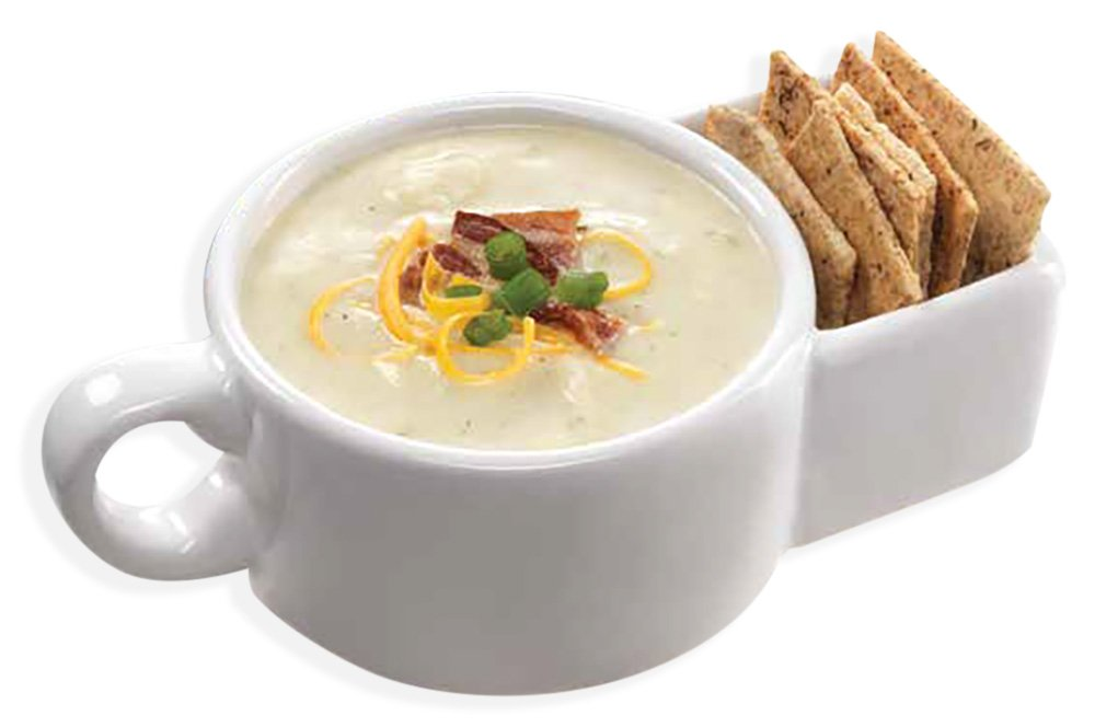 Soup and Cracker Mug or Cereal Bowl by Kitchen Gadgets