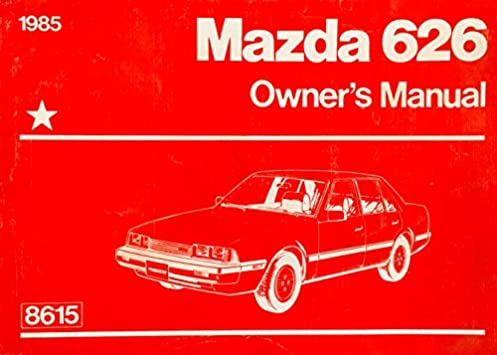 1985 mazda 626 owners manual mazda amazon com books rh amazon com 1996 Mazda 626 1996 Mazda 626