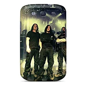 Excellent Hard Phone Covers For Samsung Galaxy S3 With Custom High-definition Hypocrisy Band Series MarieFrancePitre
