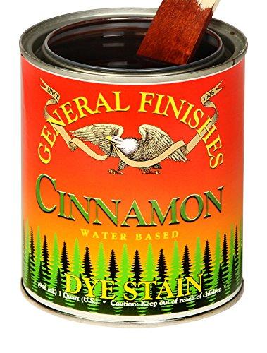 General Finishes DQC Water Based Dye, 1 Quart, Cinnamon