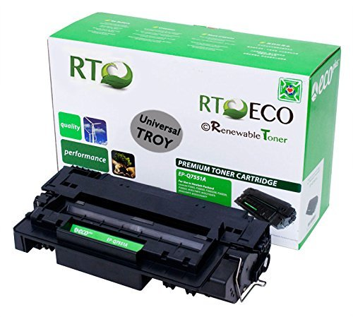 (Renewable Toner Compatible MICR Toner Cartridge Replacement for Troy 02-81201-001 HP Q7551A 51A for Laserjet P3005 M3027 MFP M3035 )