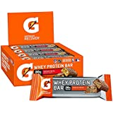 Gatorade Whey Protein Recover Bars, Chocolate Pretzel, 2.8 ounce bars (12 Count)