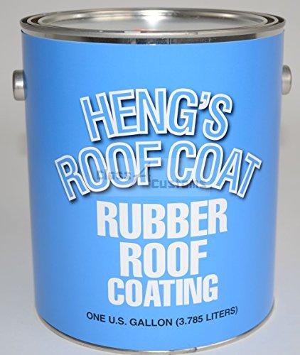 Amazon com: Elixir Rubber Roof Coating - White - Gallon