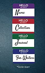 Name Collection Journal For Writers