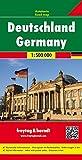 Germany: Road Map 1:500K FB (English, Spanish, French, Italian and German Edition)