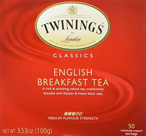 English Breakfast Twinings Tea Bags - 3