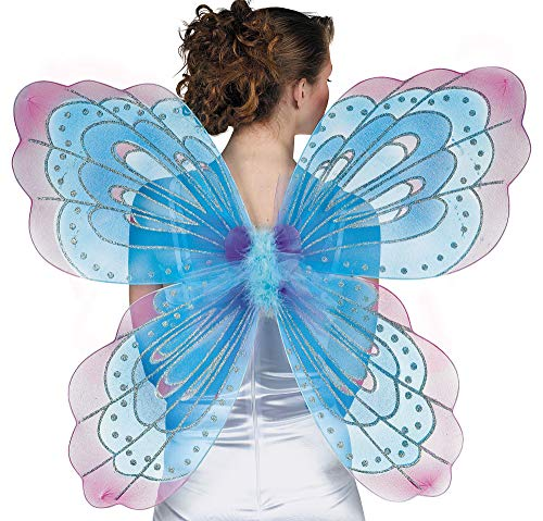 Amscan Jumbo Butterfly Wings One Size, Multicolor