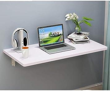 BCX Mesa de pared, escritorio plegable para computadora portátil ...