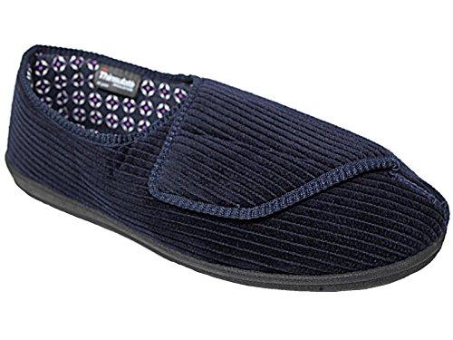 Foster Footwear , Jungen Unisex Erwachsene Herren Damen Flache Hausschuhe  Navy