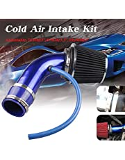 Ruien Universal Performance Induction Cold Air Intake Filter Alumimum 3inch/76mm Pipe Hose System