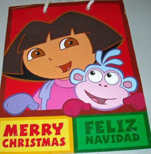 Dora the Explorer Merry Christmas - Feliz Navidad Gift Bags (Pack of 5) (Feliz Navidad Gift)