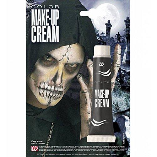 widmann Black Make Up Cream Halloween 28ML Face Paint]()
