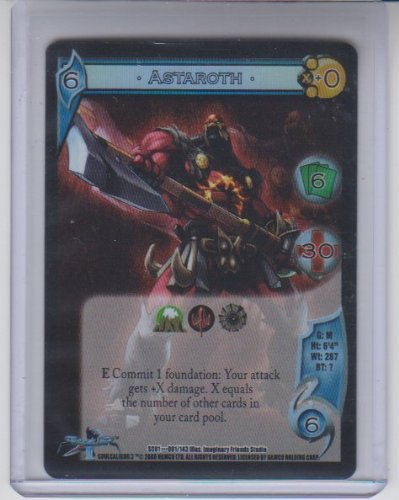 (UFS: Universal Fighting System Astaroth Foil Rare #1)
