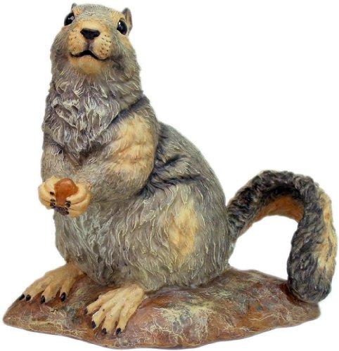 HomeStyles Call of the Wild 89781 Gray Squirrel 10″H