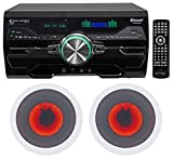 Technical Pro DV4000 4000w Home Theater DVD Receiver+6.5'' LED Ceiling Speakers