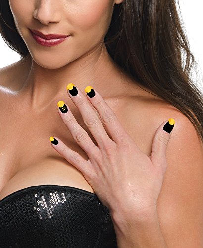 Home Improvement Halloween Costumes (Rubies DC Comics Batgirl Nail Art Strips)