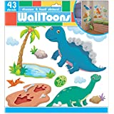 Edge Home Products Dinosaur Walltoons Wall Stickers