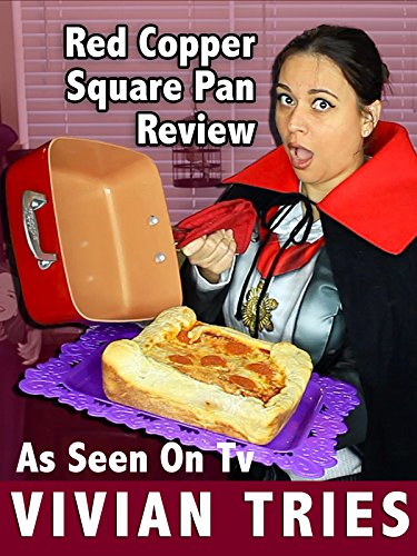 (Review: Red Copper Square Pan Review: As Seen On Tv)