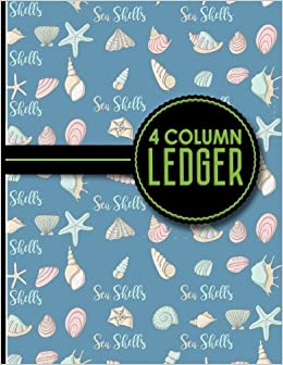 amazon com 4 column ledger appointment book accounting ledger for