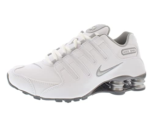 check out 702d3 7c8f8 NIKE Shox NZ EU White Athletic Training Shoes Sneakers Women s Size  12