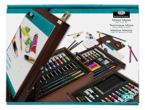 108 Piece Mixed Media Dark Easel product image