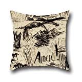oil painting Carl Fredrik Hill - Untitled (Maledictio gentibus terrae! Amen!) pillow shams ,best for home theater,play room,adults,couch,divan,her 20 x 20 inches / 50 by 50 cm(twice sides)