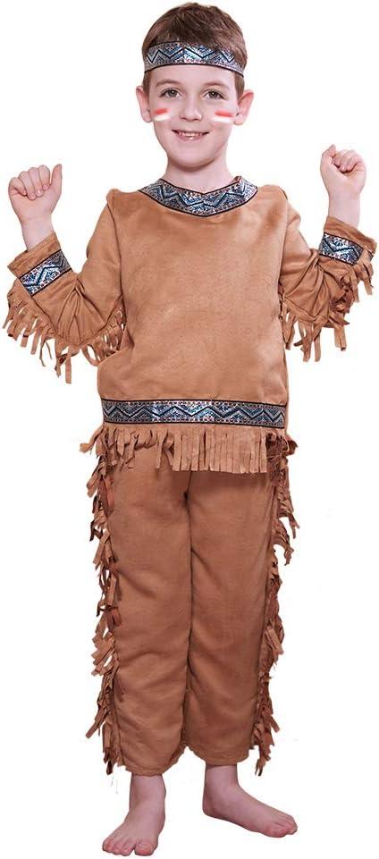 EraSpooky Disfraz de Indio Disfraces de Nativo Americano Fiesta de ...