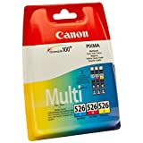 Canon (4541B006) Ink Cartridge, Cyan/Magenta/Yellow, Multipack