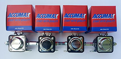 Accumax solenoids set of 4 with coupling nuts Included low rider & more USA MADE