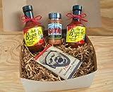 Arthur Bryant's Barbeque Sauce Combo: 2 Bottles Original, 1 Bottle Seasoning Dry Rub, & Hot/Spicy Microwave Popcorn (Kansas City Barbecue)