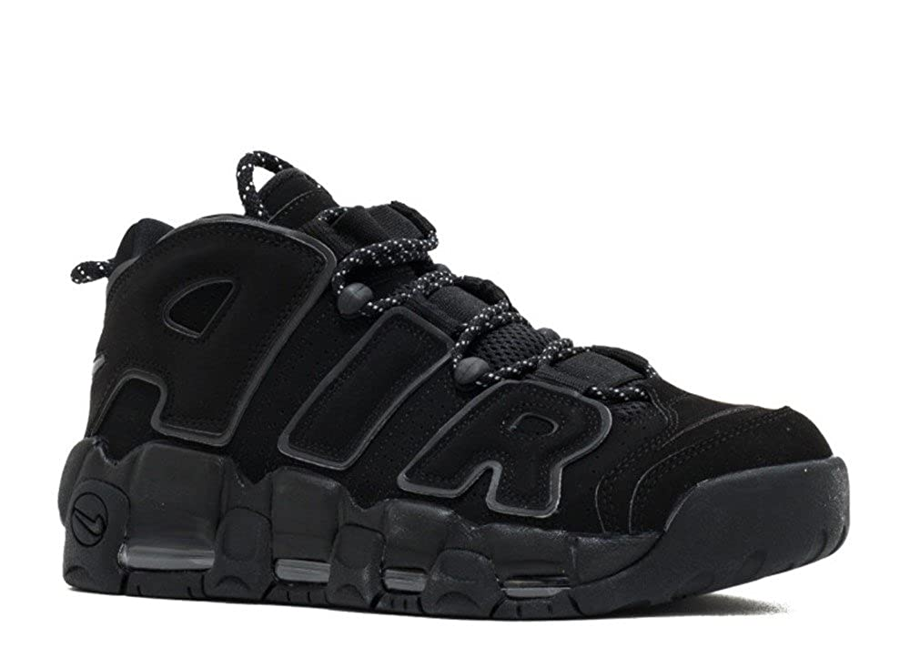 [NIKE - ナイキ] AIR MORE UPTEMPO 'BLACK REFLECTIVE' - 414962-004 - SIZE 15 (メンズ) B072QDFZTN