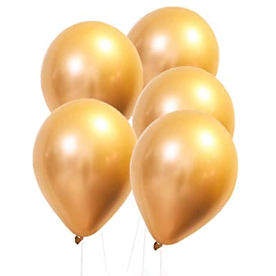 """PIXRIY 12"""" Gold Balloons for Party Decorations,Variety of Party Balloons for Weddings or Any Celebration Occasion: Toys & Games"""