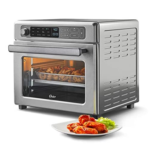 Oster Digital Air Fry and Toaster Oven with Rapid Crisp Technology NEW