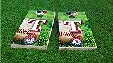Texas Field Cornhole Set, 1x4 Frame (25% Lighter)