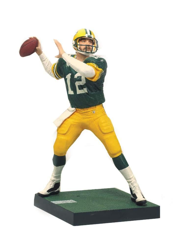 NFL Green Bay Packers McFarlane 2011 Series 27 Aaron Rodgers Action Figure McFarlane Toys MFB27FBGBAAR