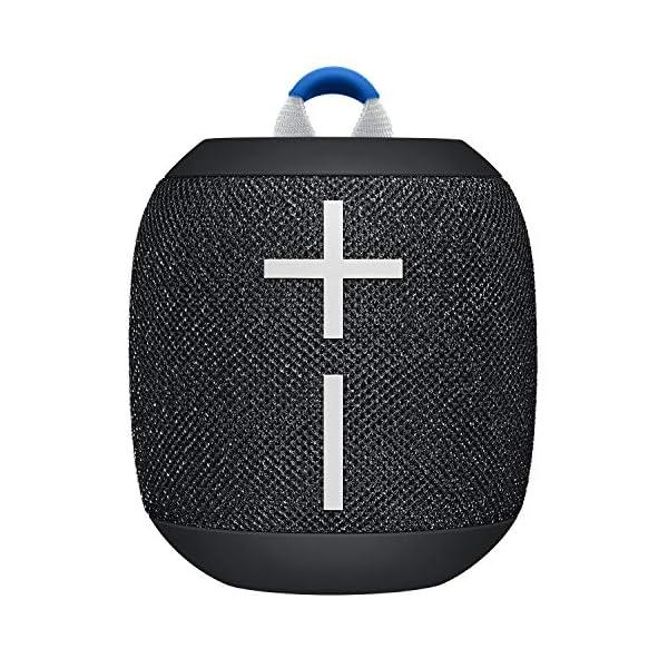 ULTIMATE EARS WONDERBOOM 2, Enceinte Portable Bluetooth Sans Fil, Son à 360 Degrés avec Basses Puissantes, Étanche / Anti-Poussière IP67, Capacité à Flotter, Portée de 30 Mètres - Deep Space Black 1
