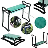 FCH Folding Garden Kneeler Gardener Kneeling Pad & Cushion Seat Knee Pad Seat