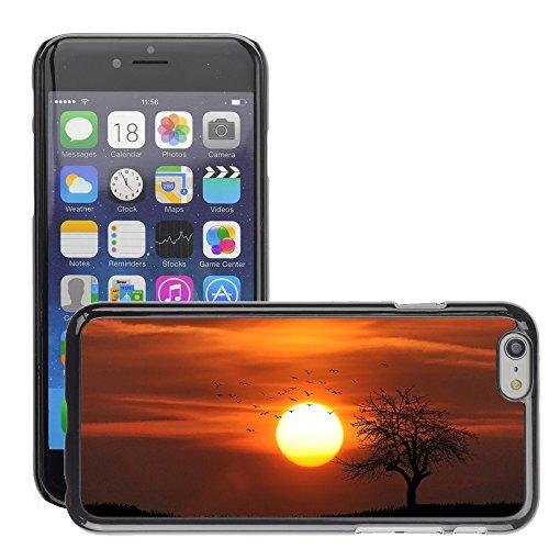 "Hard plastica indietro Case Custodie Cover pelle protettiva Per // M00421605 Agriculture arables nuages ??Campagne // Apple iPhone 6 6S 6G PLUS 5.5"""