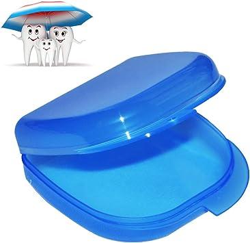 Enshey - Estuche para retenedor de ortodoncias, protectores bucales deportivos, ortesis, férula: Amazon.es: Salud y cuidado personal