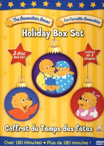 The Berenstain Bears Holiday Set (Snow Bears / The Wishing Star / A Time For Giving)