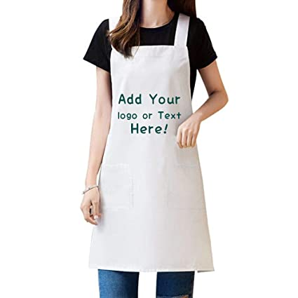 3d Home Design Personalized Aprons For Women Men Add Your Text Number Custom Apron With Pockets