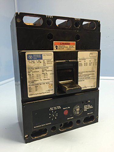Westinghouse LC3600F 600 Amp Seltronic Circuit Breaker w 500A Plug LC3600 LC3500