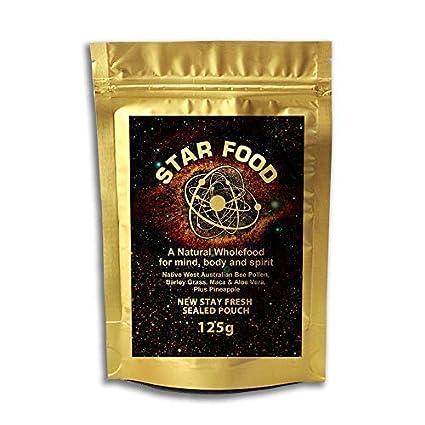 Star Food monatómica ORO Ormus 125g – mufkutz Premium Natural Puro Nutrición Salud supercomida para MENTE, cerebro, cuerpo & Espíritu - con Añadido ...