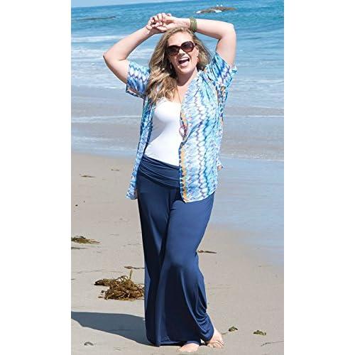 5c0a2212276 new SWAK Womens Plus Size Classic Jersey Pants in Navy - olorandaluz.com