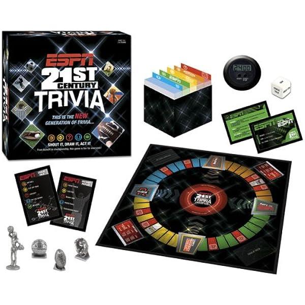 Amazon Com Usaopoly Espn 21st Century Trivia Toys Games