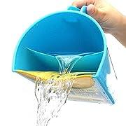 Shampoo Rinse Cup by My GOGO Baby | Baby Bath Cup to Wash Hair, Bath Rinser, Shampoo Rinse Cup, Hair Rinse Cup, Baby Hair Rinsing Cup - MAKE KIDS BATHING TEAR-FREE AND FUN
